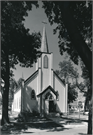 130 E MAPLE ST, a Gothic Revival church, built in Beaver Dam, Wisconsin in 1858.