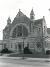 2133 W WISCONSIN AVE, a Romanesque Revival church, built in Milwaukee, Wisconsin in 1888.