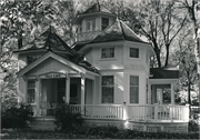 408 LAKESIDE PARK RD, a Queen Anne house, built in Rhine, Wisconsin in 1900.