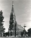 2235 W GREENFIELD AVE, a High Victorian Gothic church, built in Milwaukee, Wisconsin in 1901.