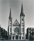 1145 W WISCONSIN AVE, a Gothic Revival church, built in Milwaukee, Wisconsin in 1893.