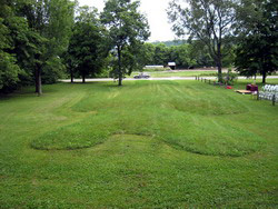 Man Mound, a Site.