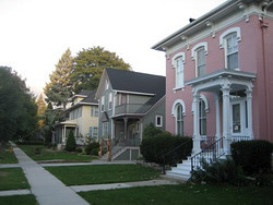 East Division Street - Sheboygan Street Historic District, a District.