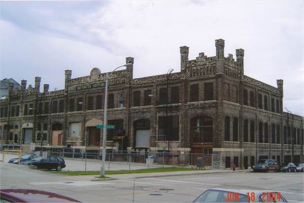 1100 N 10TH ST A German Renaissance Revival Brewery Built In Milwaukee Wisconsin