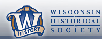 Wisconsin Historical Society logo.