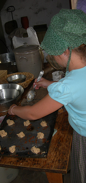 Learn to be a baker at Old World Wisconsin.
