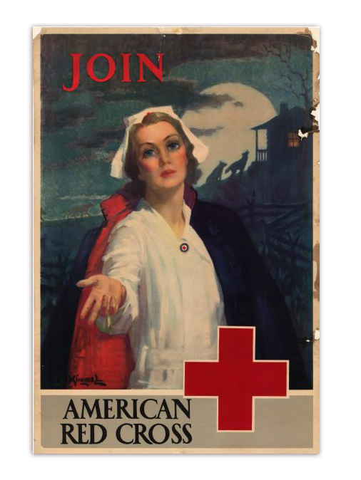 Join the American Red Cross Propaganda Poster