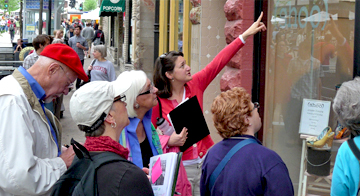State Street historic preservation tour hosted by the Madison Trust for Historic Preservation.