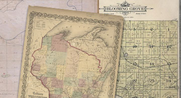 Maps And Atlases In Our Collections Wisconsin Historical Society - Wisconsin maps