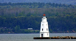 Wisconsin lighthouse - Ashland Breakwater Light.
