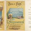 Chequamegon Hotel Dinner Menu.