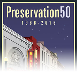 National Historic Preservation Act 50th Anniversary.