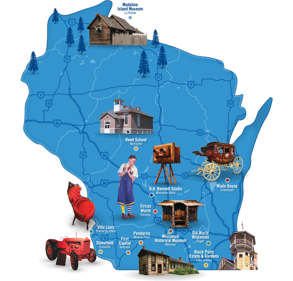 visit wisconsin museums and historic sites wisconsin historical