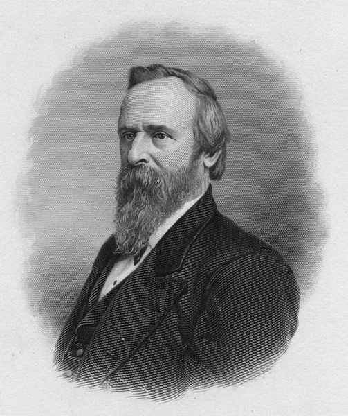 Paul Birchard Wallpapers Rutherford B Hayes WHi