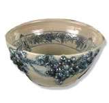 Art Pottery Punchbowl