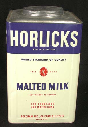 Horlicks malted milk